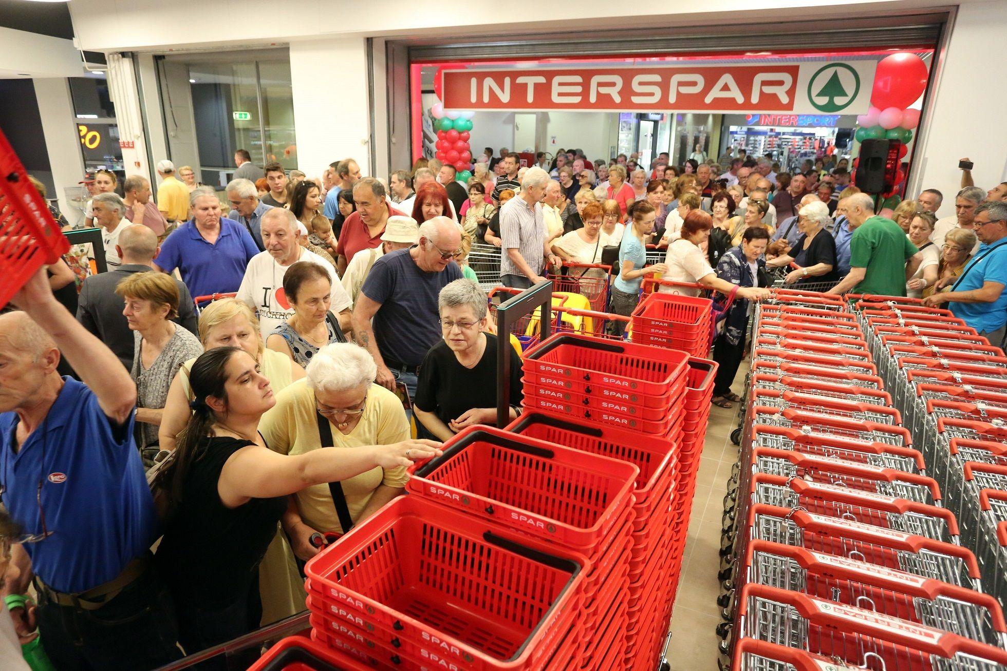 Rijeka dobila novi INTERSPAR hipermarket, otvoreno više od 100 novih radnih mjesta